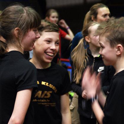 Tallinas čempionātā U14/U16 grupām