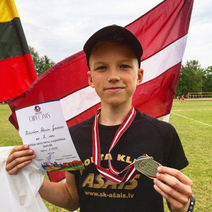 Baltijas bērnu vieglatlētikas sacensības 2018