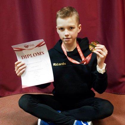 Latvijas U14 čempionāts telpās 2019