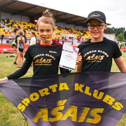 Ogres novada sporta centra atklātās sacensības U14 vecuma grupai
