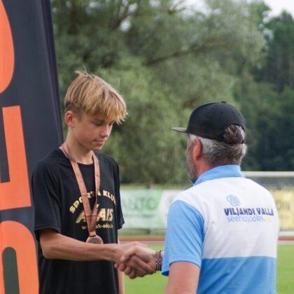 Igaunijas sacensību seriāls, Vīlande. 600m