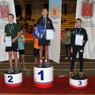 Rīgas jaunatnes meistarsacīkstes telpās 2014