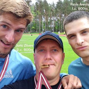 Selfiju sērija Valmieras čempionātā 2014