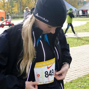 Siguldas pusmaratona 5K skrējienā, 2012. gada rudens