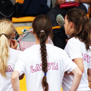 Starptautiskās bērnu vieglatlētikas sacensības Polijā, 2016