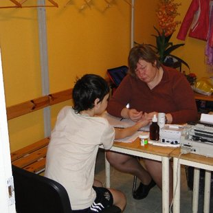 Eirofit tests 2012